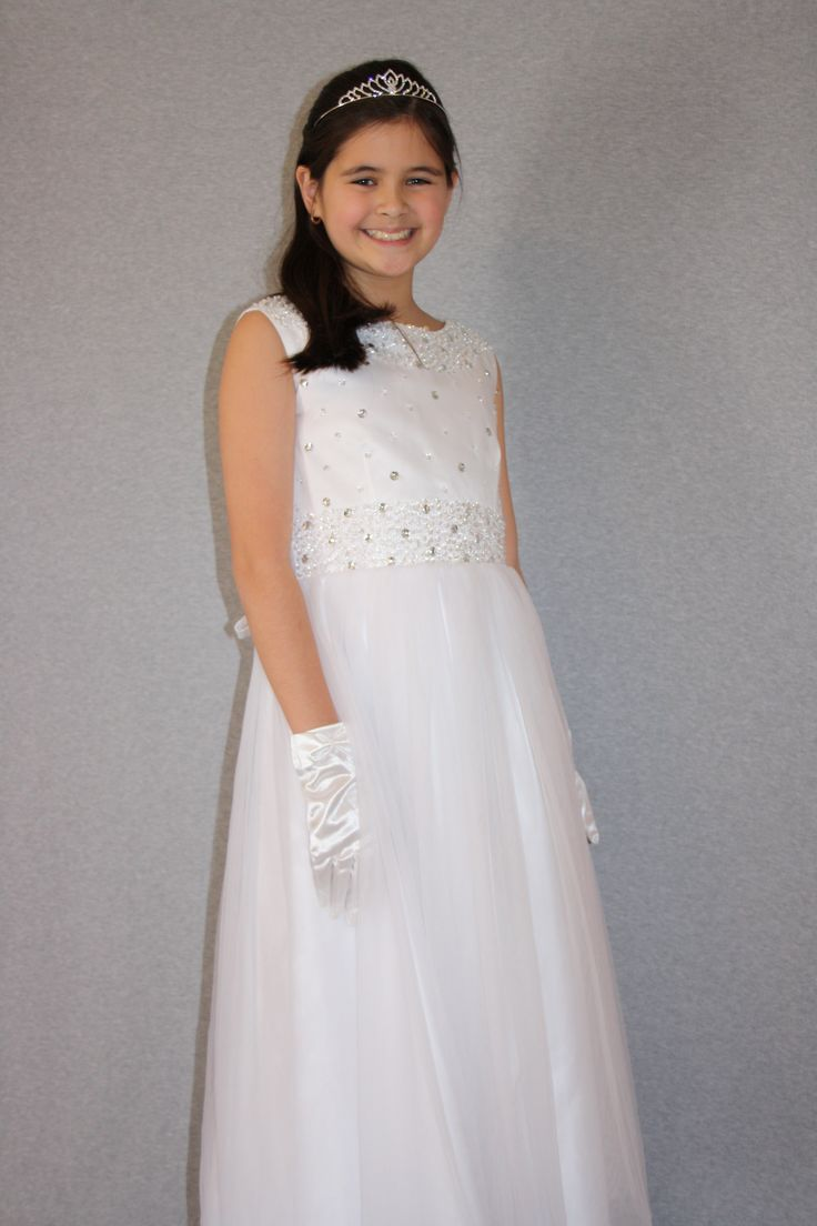 First Communion/Flower Girl Dresses from Silk n Satin Communion Dresses. $79.95 https://silknsatincommuniondresses.com.au/product/sparkly-princess/