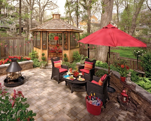 102 best small yard/patio ideas images on pinterest | terraces ... - Yard Patio Ideas