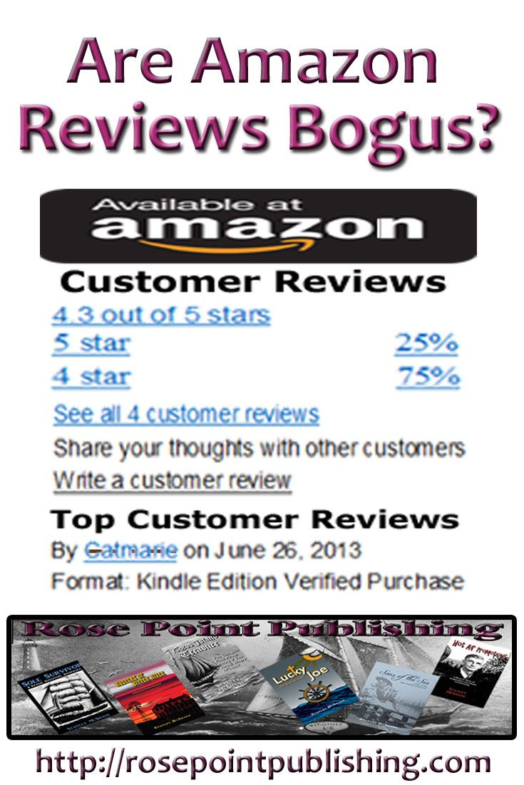 Are all those Amazon reviews truly readers who love those books? Maybe not.