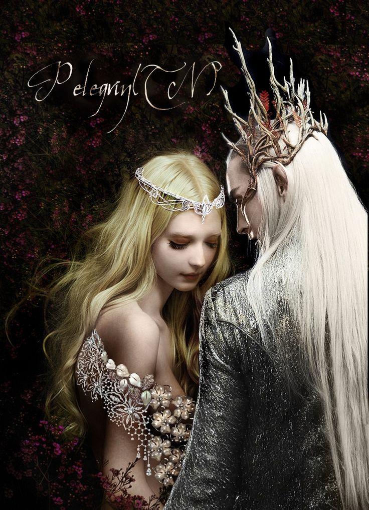 Thranduil's wife by Pelegrintn on DeviantArt The