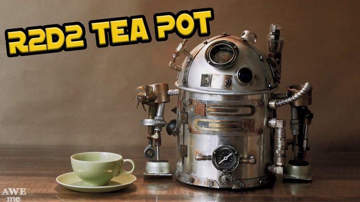 R2D2 Steampunk Tea Pot - AWEme Artist Series