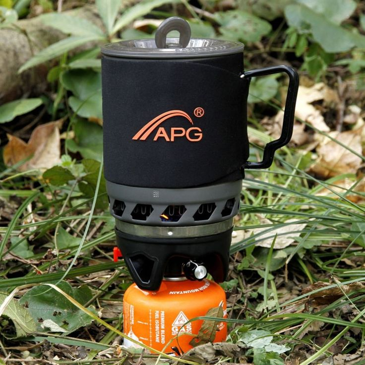 APG 900ml Camping Gas Stove Cooking System and Portable Gas Burner Wind Proof #APG900mlChina #CamouflageFieldGame