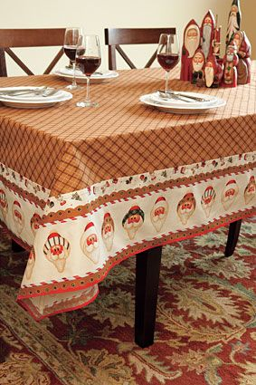 Mitered Table Cloth Pattern Download