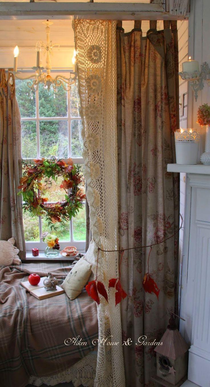 Best 25 garden bedroom ideas on pinterest room lights - Soggiorno shabby chic ...