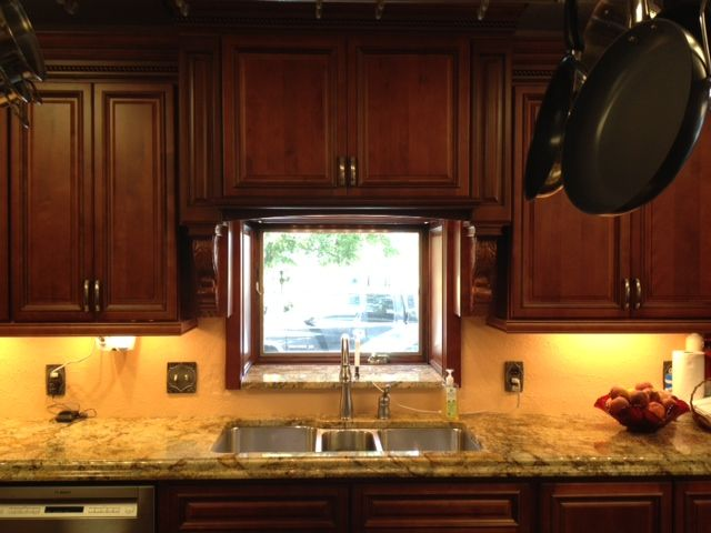 67 best kitchen designs images on pinterest kitchen for Carriage house kitchen cabinets