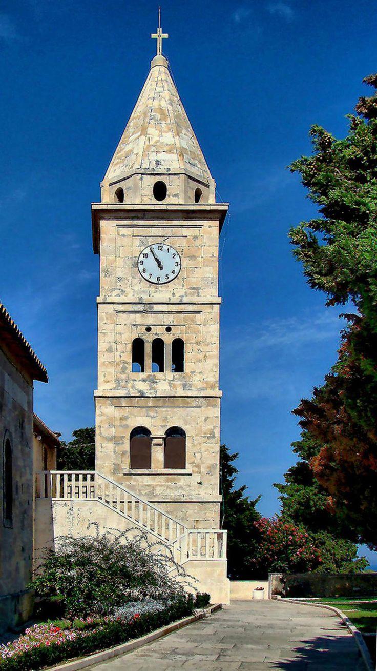 2008.08. Croatia, Primosten, old town church on the hilltop__óvárosi templom a dombtetőn__photo by Peter Farsang_©fapeter