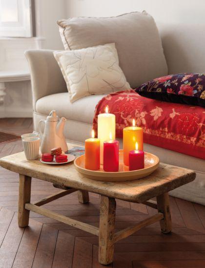 Kolorowe świece Bolsius. #świece #prezent #walentynki