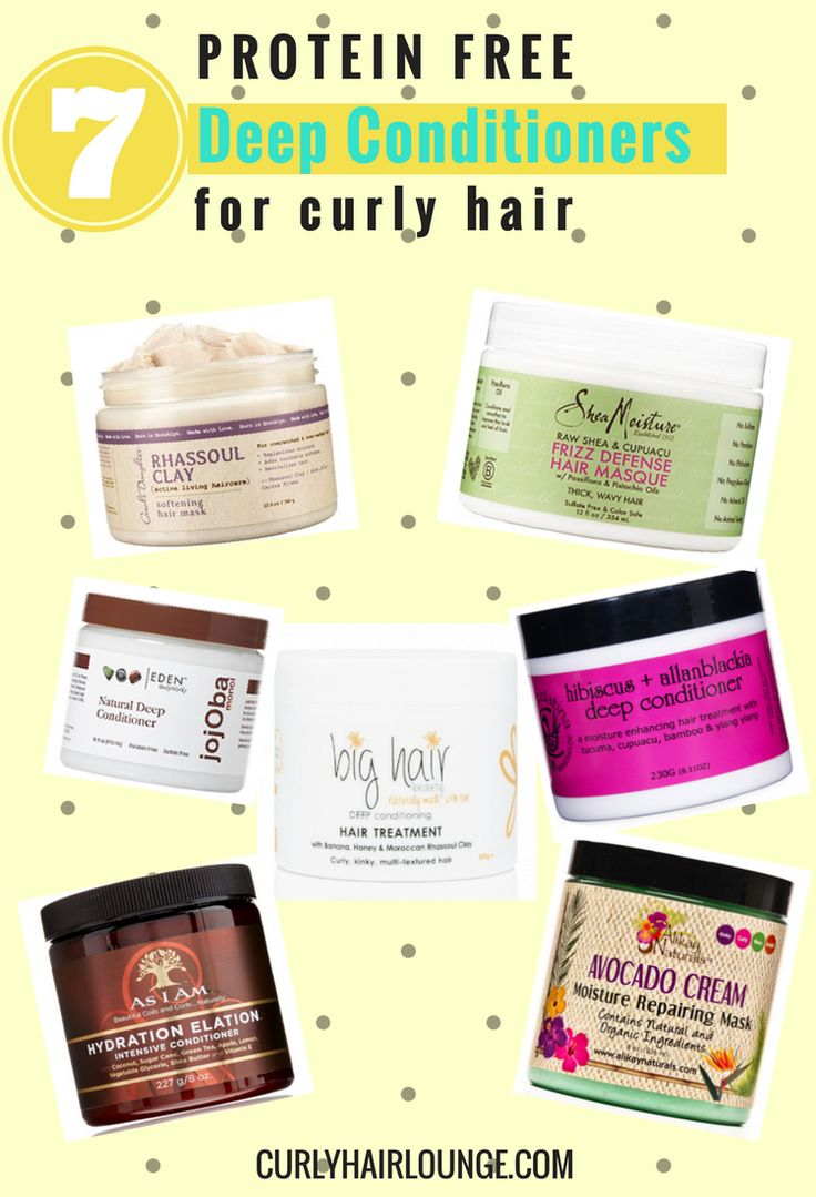 Achieving moisture and protein balance in your hair regimen is key to healthy strong curly hair. Deep conditioners or hair treatmenst are the way to go here! However, too much protein or too much moisture one can lead into the path hair damage. If you're a natural hair newbie or transintioner it can be hard to spot protein free hair treatments. Lucklily, I found 7 Protein Free Moisturising Hair Treatments for you. Pin and save to read now!