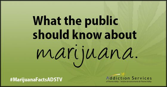 We created a campaign on What the Public Should know about #Marijuana. Check it out here: http://adstv.on.ca/what-the-public-should-know-about-marijuana/