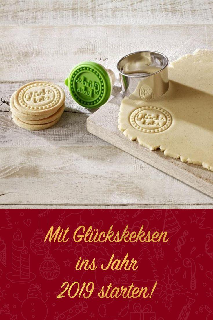 Weihnachtskekse Preise 2019.Birkmann Plätzchen Stempel Glückskeks Plätzchenstempel Backform