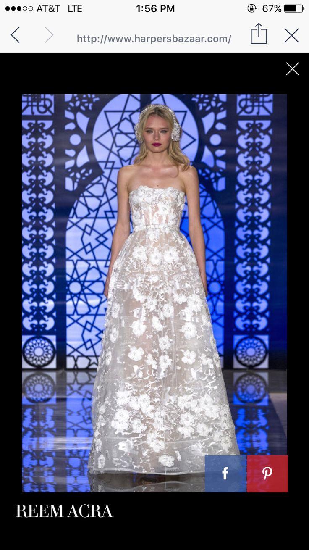 23 besten Reem Acra Bilder auf Pinterest | Hochzeitskleider ...