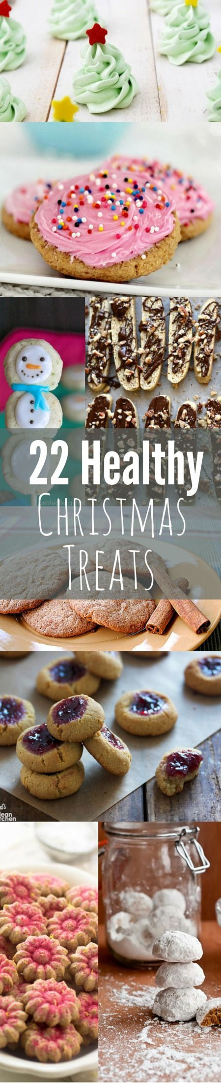 Try THESE lighter cookie recipes to serve as your classic favorites without the calorie bomb! Healthy Christmas cookies are too good and they ARE TRUE! Get Healthy U | Chris Freytag