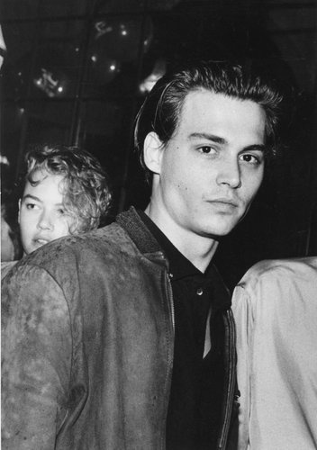 Johnny Depp im James-Dean-Look Ende der 1980er-Jahre