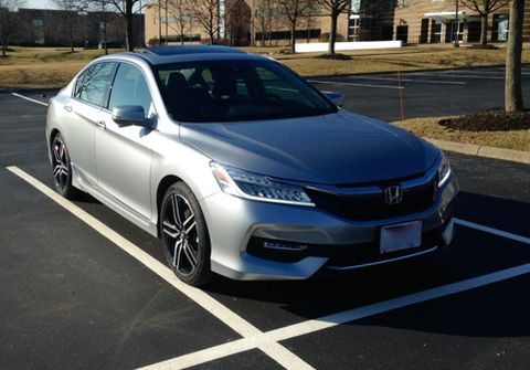 2016 Accord Touring Lunar Silver with Sport Grille