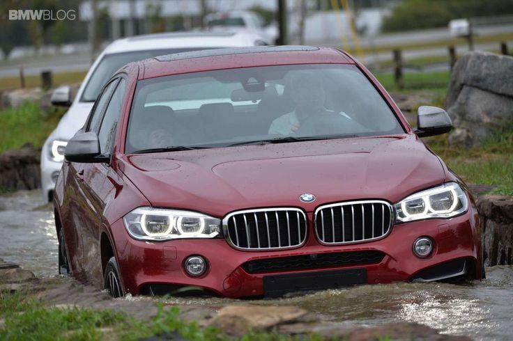 В BMW Performance Center прошло испытание БМВ Х6 2015 на бездорожье. Внедорожные качества X6 2015 проверяла группа журналистов, прибывшая в Спартанберг