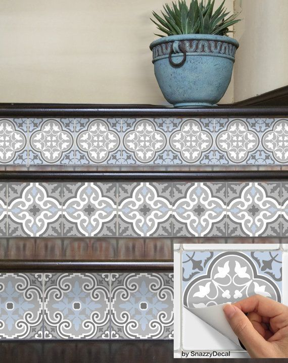 Best 20+ Tile On Stairs Ideas On Pinterest | Mosaic Stairs