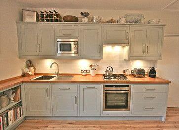 Vauxhall, London - contemporary - Kitchen - Other Metro - Laura Gompertz Interiors Ltd