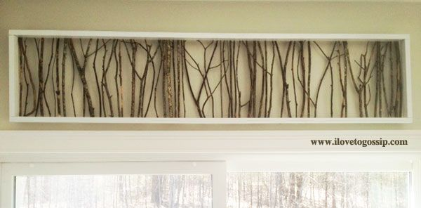 Pin this project on Pinterest to read later! Are you looking for a cheap art project to do with the branches found in your yard? Good, you've come to the right place! Last year we moved into our ne...