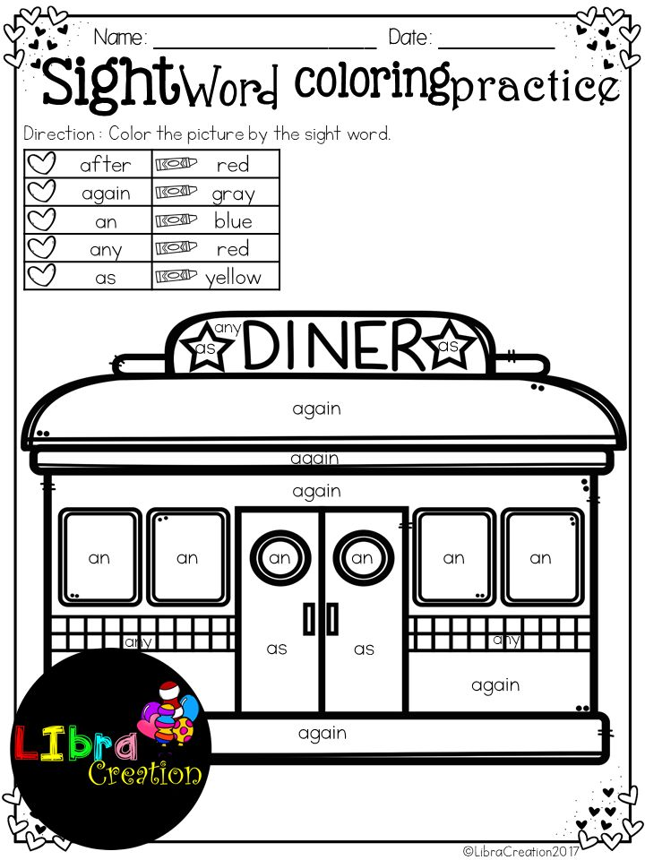43 best Sight Words images on Pinterest | Teaching ideas, Literacy ...