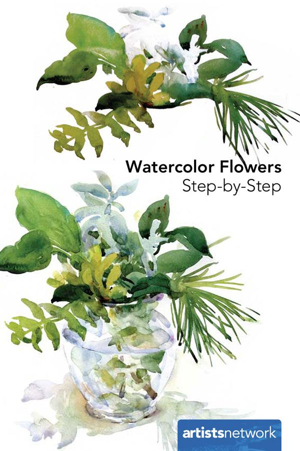 449 best watercolor painting images on pinterest for Watercolor painting for beginners step by step