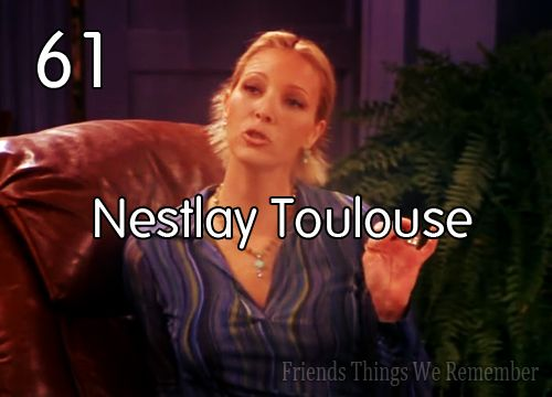 Monica: Do you mean Nestle Tollhouse?  Phoebe: You Americans always butcher the French: French Language, Chocolates Chips Cookies, Toll House, Cookies Recipes, Families Recipes, Grandmothers Recipes, Nestl Tollhouse, Cookies Exchange Parties, Friends Episode
