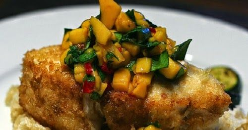 Make Bonefish Grill Warm Mango Salsa at home with our easy recipe.