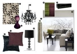 Living Room Decor Accessories 86 best purple and green livingroom images on pinterest | living