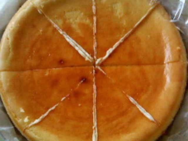 外国人直伝の簡単で濃厚なチーズケーキの画像