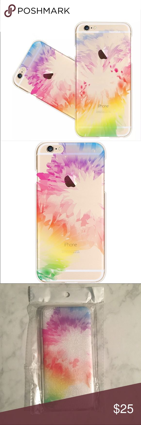 MAKE AN OFFER New Tie Dye Rainbow Henna iPhone Case! Choose a size, Soft Case! Accessories Phone Cases