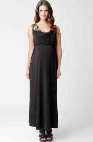Ripe Maternity Nursing Maxi Dress w/ removable applique!