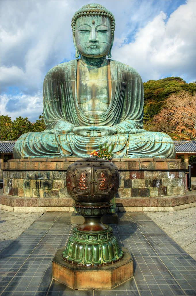 The Great Buddha of Kamakura, Japan - - For A Better Look - EXPAND THIS ONE - (JL)