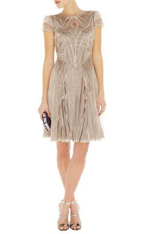 Art Nouveau style, Karen Millen dress.