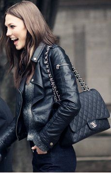 chanel jumbo flap worn crossbody - Google Search