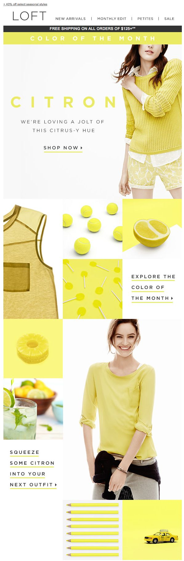 LOFT: Introducing the Color of the Month