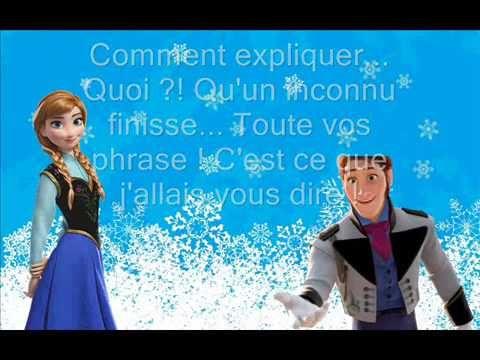 L'amour Est Un Cadeau La Reine Des Neiges lyrics - YouTube Good for passe compose