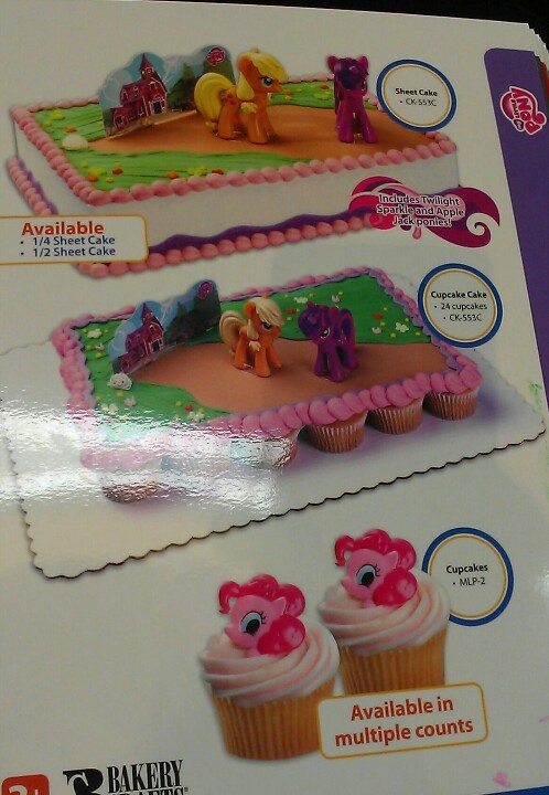 My Little Pony Friendship Is Magic Cake Walmart Birthday
