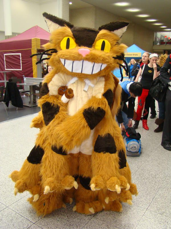 Catbus Cosplay Lining Up by Phoenix-Dragons | Cosplay ...
