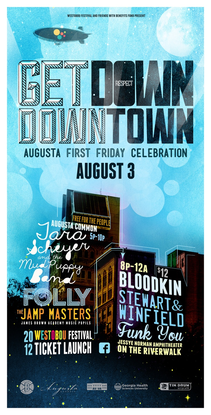 Get Down Downtown #downtown #augusta #firstfriday #westobou #fwbf