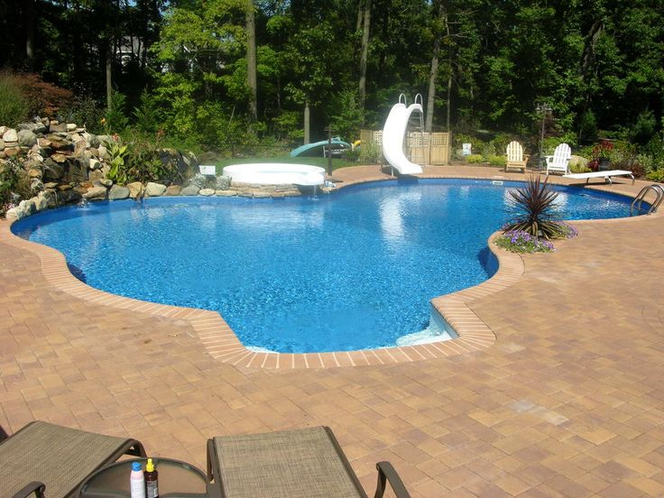 Inground Pools With Diving Board And Slide 16 best pool ideas images on pinterest | pool backyard, backyard