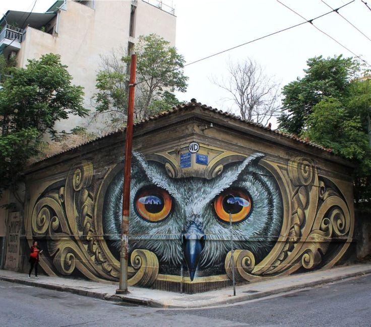 Best Artsy Images On Pinterest Urban Art Street Art - Spanish street artist transforms building facades into amazing artworks