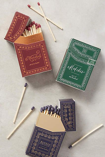 Lanternlight Matches - anthropologie.com