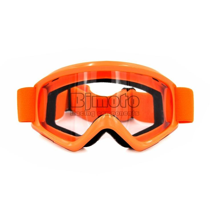 Flexible Adult Clear Lens Motorcycle Protective Gears Motocross Bike Cross Country Goggles Glasses  https://www.amazon.co.uk/dp/B073Y7HT4Y?th=1