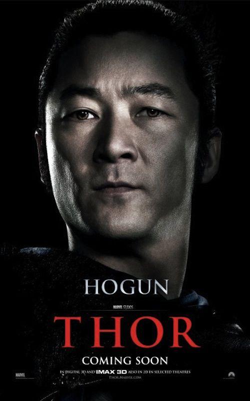 Thor (2011) l Tadanobu Asano as Hogun
