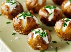 potato party mini food - Bing Images