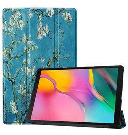 3-Vouw cover hoes Van Gogh Amandelboom voor de Samsung Galaxy Tab A 10.1 inch – Copy