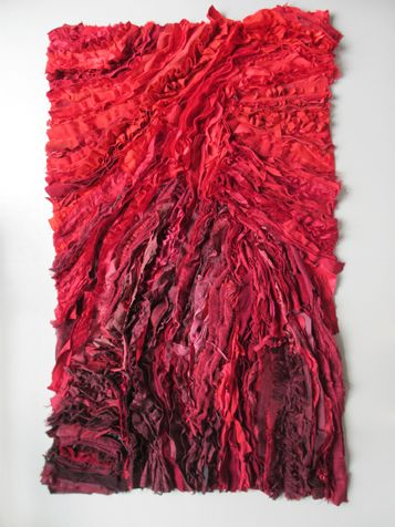 Femke van Gemert | Projects | Textile works| Bloody Passion