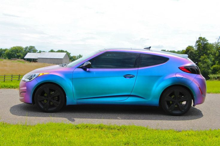 Now that's a Veloster like I've never seen before!
