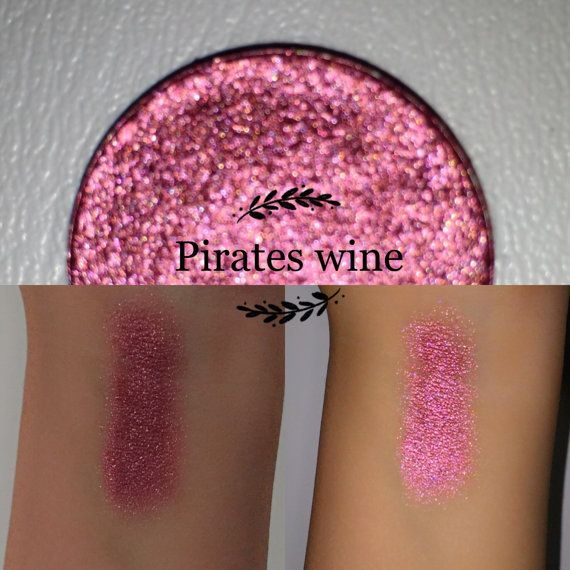 Welcome to Enchanted lustre! Where all items are hand made and made to order ❤️  26mm pan only:  Pirates wine - a super pigmented foiled red/rust. This eyeshadow is not vegan (contains carmine), although it is cruelty free, paraben free, talc free, highly pigmented.  Ingredients - Mica (eye & face safe - not recommended on lips), propyl alcohol, coconut oil, purified vitamin E oil, vegetable glycerin, maizena, phenoxyethenol & ethylhexyglycerin (plant based preservative). -- * Pre-Orders are…
