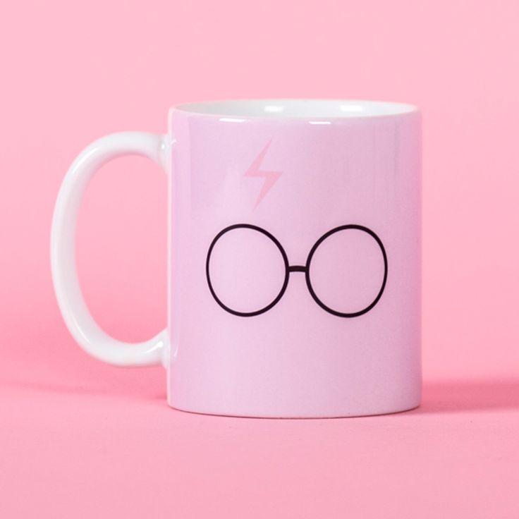 Harry Potter pink scar and glasses mug - Funny mug - Rude mug - Mug cup 4P083 by PooSparkles on Etsy https://www.etsy.com/listing/254509491/harry-potter-pink-scar-and-glasses-mug