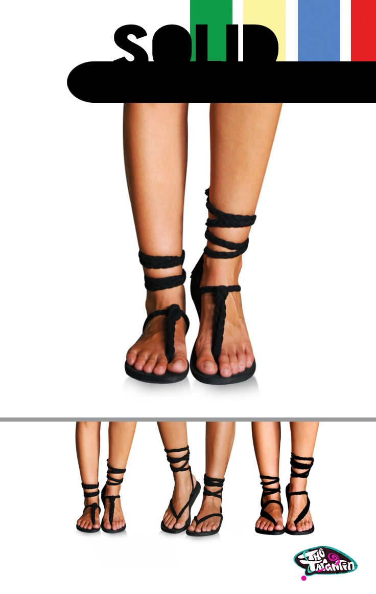 Australian Made Strapy Sandals / buy them on www.thetarantin.com AU $38